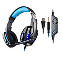cheap Headsets & Headphones-KOTION EACH Over Ear / Headband Wired Headphones Plastic Gaming Earphone with Volume Control / with Microphone / Noise-isolating Headset