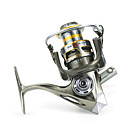 cheap Fishing Reels-Fishing Reel Spinning Reel 5.2:1 Gear Ratio+12 Ball Bearings Hand Orientation Exchangable Sea Fishing / Bait Casting / Ice Fishing -