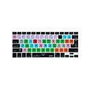 preiswerte Tastaturzubehör-XSKN Logic Pro x 10 Verknüpfung Overlay Silikon-Tastatur-Abdeckung für MacBook Pro-Luft Netzhaut 13 '' 15 '' 17 ''