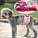 preiswerte Hundekleidung-Katze Hund Hosen Hundekleidung Streifen Cartoon Design Regenbogen Baumwolle Kostüm Für Haustiere Sommer Herrn Damen Lässig / Alltäglich