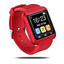olcso Okosórák-Intelligens Watch mert iOS / Android Intelligens Case / Kéz nélküli hívások / Érintőképernyő / Lépésszámlálók / Üzenet kontroll Alvás nyomkövető / Hol a mobilom / Kamera kontroll / Anti-elveszett