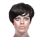 cheap Human Hair Wigs-Human Hair Machine Made Wig Curly Wig 150% Hair Density Natural Hairline African American Wig 100% Hand Tied Women's Short Human Hair Lace Wig Premierwigs