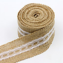 cheap Wedding Ribbons-Solid Color Jute Wedding Ribbons - 1 Piece/Set Weaving Ribbon Gift Bow Decorate favor holder Decorate gift box Decorate wedding scene