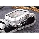 tanie Statywy, monopody i akcesoria-Watch Band na Apple Watch Series 3 / 2 / 1 jabłko Zapięcie motylkowe Stop Opaska na nadgarstek