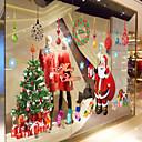 preiswerte Weihnachtsschmuck-Dekorative Wand Sticker - Flugzeug-Wand Sticker Tiere / Stillleben / Romantik Wohnzimmer / Schlafzimmer / Esszimmer / Abziehbar