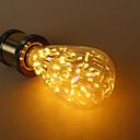 levne osvětlení Příslušenství-1ks E27 ST64 Teplá bílá LED žárovky s vláknem 220-240 V / 110-130 V / 85-265 V