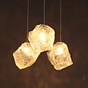 baratos Luzes Pingente-Mini Luzes Pingente Luz Descendente Vidro Vidro LED Branco Lâmpada Não Incluída / G4