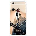 halpa Miesten rannekorut-Etui Käyttötarkoitus Apple iPhone 6s Plus / iPhone 6s / iPhone 6 Plus Kuvio Takakuori Scenery / city View Pehmeä TPU