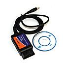 preiswerte OBD-Mini-USB ELM327 v1.5 obdii Autoerkennung Diagnosescan-Werkzeug - blau