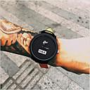 baratos Relógio Elegante-Homens Relógio de Pulso Relógio Casual / Legal Couro Banda Fashion Preta / Tianqiu 377