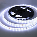 billige LED Strip Lamper-zdm vanntett 5m 300 leds 3528 smd 8mm varm hvit kald hvit rød blå grønn kuttbar dc12 v ip65 selvklebende