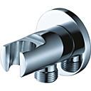 olcso Intelligens Plug-Csaptelep tartozék - Kiváló minőségű - Kortárs Sárgaréz Zuhanyfej tartó - Befejez - Króm