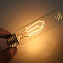hesapli Akkor-1pc 40 W E26 / E27 T10 Sıcak Beyaz 2000 k Dekorotif Incandescent Vintage Edison Ampul 220-240 V