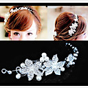 cheap Bracelets-Women's Party Imitation Pearl / Cubic Zirconia / Silver Plated Hair Stick - Solid Colored / Cute / Alloy