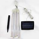 tanie Mini-style wisiorek światła-144 Diody LED SMD 2835 Zimna biel Wodoodporny / Na energię słoneczną / Dekoracyjna 2 V 1 zestaw / IP44