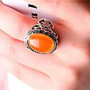preiswerte Moderinge-Damen Statement-Ring - versilbert Modisch Eine Größe Orange / Grün Für Party