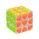 baratos Instrumentos de Brinquedo-Rubik's Cube YONG JUN 3*3*3 Cubo Macio de Velocidade Cubos mágicos Cubo Mágico Nível Profissional Velocidade Dom Clássico Para Meninas