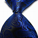 cheap Reborn Doll-Men's Party / Work / Basic Necktie - Paisley Print