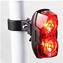 olcso Kerékpár világítás-Kerékpár hátsó lámpa / biztonsági világítás / hátsó lámpák LED - Kerékpározás Vízálló, LED fény, Könnyű AAA 400 lm AkkumulátorBattery Kerékpározás