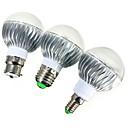 tanie Zestawy samochodowe Bluetooth/Bezdotykowy-ywxlight® e14 gu10 e26 / e27 b22 540lm 5w led żarówki światłowodowe led ściemnialne zdalnie sterowane rgb ac 85-265v