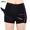 cheap Sports Support & Protective Gear-WOSAWE Women's Cycling Skirt Bike Skirt / Padded Shorts / Chamois / Bottoms 3D Pad, Anatomic Design, Breathable Solid Colored Elastane,