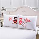 billige Bryllupsdekorasjoner-Komfortabel 2stk Putevar, Bomull/Polyester Bomull/Polyester Trykket 230TC Trykt mønster