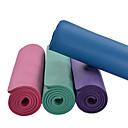 hesapli Minderler-Yoga Matı Kokusuz, Çevre-dostu, Yapışkan NBR Su Geçirmez, Hızlı Kuruma, Kaymaz İçin Yoga / Pilates Fuşya, Yeşil, Koyu Mor