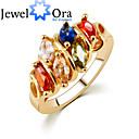 preiswerte Modische Armbänder-Damen Bandring - Kubikzirkonia, vergoldet Modisch, Elegant Eine Größe Rotgold Für Party
