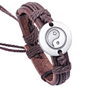 cheap Religious Jewelry-Anklet / Leather Bracelet / Bracelet - Party, Work, Casual Bracelet Brown For Gift / Valentine