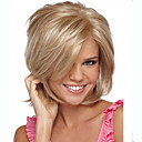 cheap LED Bulbs-Synthetic Wig Straight Synthetic Hair Side Part Blonde Wig Women's Short Capless
