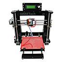 cheap 3D Printer Parts & Accessories-Geeetech Acrylic Mendel I3 3D Printer Support ABS/ PLA/Flexible PLA/ Wood /Nylon Free PLA 1.75mm Filament 0.3mm Nozzle