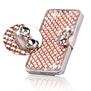 cheap Cell Phone Cases & Screen Protectors-Case For Apple iPhone 6 iPhone 6 Plus Card Holder Rhinestone with Stand Flip Full Body Cases Glitter Shine Hard PU Leather for iPhone 6s