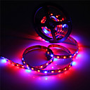 cheap LED Strip Lights-ZDM 5M Waterproof 5050 4 Red+1 Blue Full Spectrum Led Grow Light 300Leds Led Strip Lamps for Plants Growing Non Waterproof Aquarium Lighting 1pc