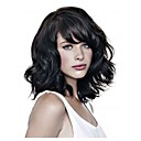 cheap Synthetic Capless Wigs-Synthetic Wig Wavy Synthetic Hair Black Wig Women's Short Capless