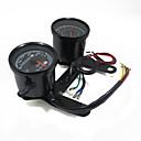 billige Deler til motorsykkel og ATV-universell motorsykkel turteller kilometer speedometer måler LED indikator med brakett
