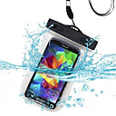 cheap Cell Phone Cases & Screen Protectors-Case For Universal Waterproof with Windows Pouch Bag Solid Color Soft PC for S6 edge S6