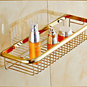 cheap Shower Accessories-Bathroom Shelf Neoclassical Brass 1 pc - Hotel bath