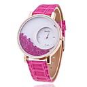 preiswerte Modische Uhren-Damen Armbanduhr Quartz Leder Band Analog Charme Modisch Schwarz / Weiß / Blau - Rose Rot Blau Ein Jahr Batterielebensdauer / SSUO 377