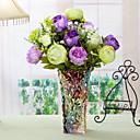 baratos Flor artificiali-Flores artificiais 1 Ramo Pastoril Estilo Peônias Flor de Mesa