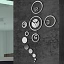 billige Speil Vægure-Fritid Moderne / Nutidig Kontor / Bedrift Plast Rund Innendørs,AA