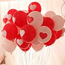 cheap Birthday Home Decorations-10PCS Hearts Round Shape Wedding Birthday Party Decoration Home Decor Festival