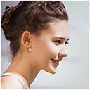 economico Adesivi da parete-Per donna Perle Orecchini a bottone Orecchini Donne Gioielli Argento / Dorato Per Matrimonio Feste Quotidiano Casual Mascherata Festa per la promessa di matrimonio