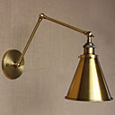 baratos Arandelas de Parede-Rústico / Campestre Swing Arm Lights Metal Luz de parede 110-120V / 220-240V