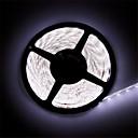 preiswerte LED Leuchtbänder-5m Flexible LED-Leuchtstreifen 600 LEDs 3528 SMD Warmes Weiß / Weiß Schneidbar / Wasserfest / Verbindbar 12 V / IP65 / Selbstklebend
