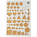 hesapli Pratik Hediyelikler-Tatil Süslemeleri Şekiller Kağıt Sanatı DIY Aletler Yüksek kalite 1set 1pc