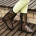 abordables Accesorios para  Zapatos-2pcs Caucho Cubrezapatos Mujer Todas las Temporadas Casual Blanco Marrón Fucsia