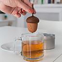 billige Kaffe og te-silikoneekorn acornea infuser løs fyrretræer tepose sil