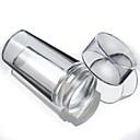 hesapli Tırnak Damgalama-1 pcs damgalama Plaka / Nail Jewelry Soyut / Moda Günlük Tırnak Tasarımı Tasarımı