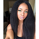 cheap Bed Pillows-natural style lace front or full lace wigs kinky straight top quality human hair remy virgin brazilian natural part