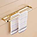 cheap Bath Fixtures-Towel Bar Contemporary Brass 1 pc - Hotel bath 2-tower bar